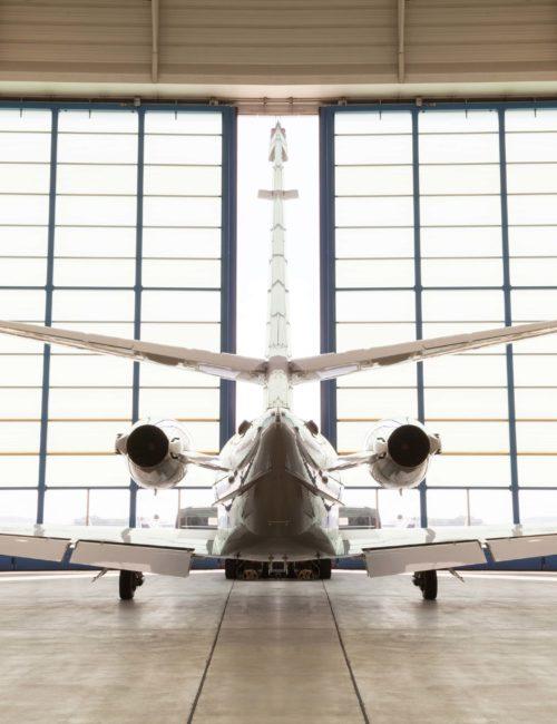 plane exposed